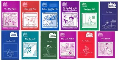 Primary Phonics Storybooks, Complete Starter Set      Storybook Sets 1-6  -