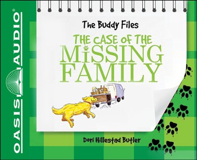 The Case of the Missing Family: The Buddy Files Unabridged Audiobook on CD  -     By: Dori Hillestad Butler