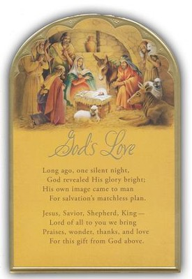 God's Love Christmas Cards, Box of 18  -
