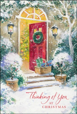 Thinking of You at Christmas Cards, Box of 18  -