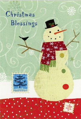Christmas Blessings Cards, Box of 18  -