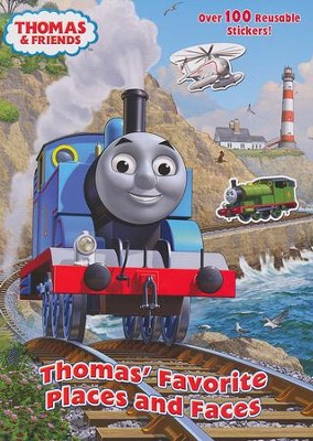Thomas' Favorite Places and Faces (Thomas & Friends)  -     By: Rev. W. Awdry     Illustrated By: Tommy Stubbs