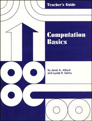 Computation Basics Teacher's Guide  -