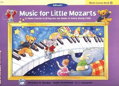 Music for Little Mozarts, Music Lesson Book 4   -     By: Christine H. Barden