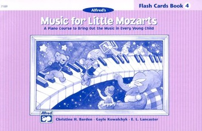 Music for Little Mozarts, Flash Cards for Book 4   -     By: Christine H. Barden