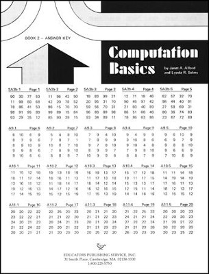 Computation Basics 2 Key  -