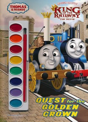 The Quest for the Golden Crown (Thomas & Friends)  -     By: Rev. W. Awdry     Illustrated By: Jim Durk
