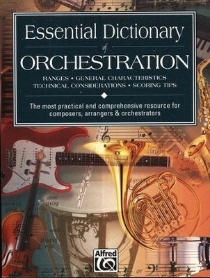 Essential Dictionary of Orchestration   -