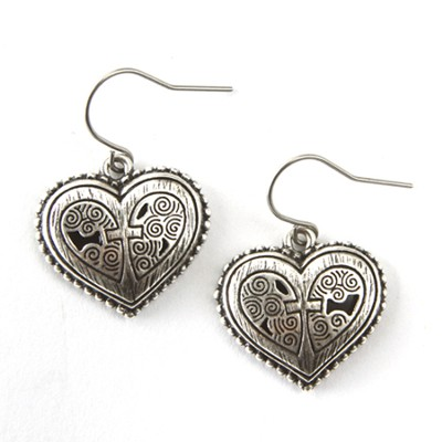 Grace Heart Earring  -