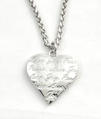 Love, Joy, Peace Necklace  -