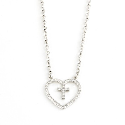 Entrusted Heart Necklace  -