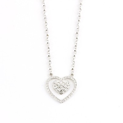 Captive Heart Necklace  -