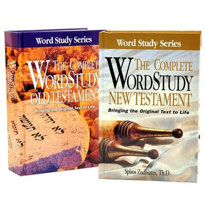Complete Word Study Pack, Old Testament and New Testament   -     By: Spiros Zodhiates
