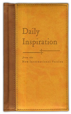 Daily Inspiration: from the New International Version   Deluxe  -     Edited By: Molly Detweiler     By: Pat Matuszak