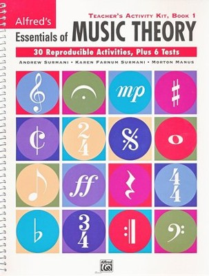 Essentials of Music Theory, Teacher's Activity Kit, Book 1   -     By: Andrew Surmani