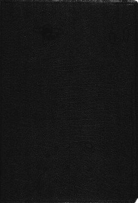 KJV Super Giant Print Reference Bible, Bonded leather, Black Thumb-Indexed  -