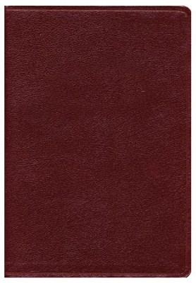 KJV Super Giant Print Reference Bible, Bonded Leather, Burgundy,  Indexed  -