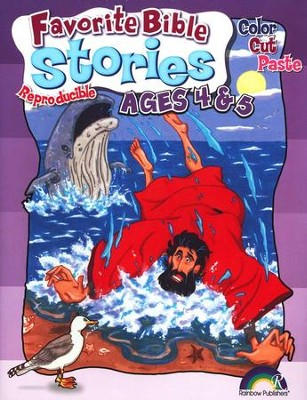 Favorite Bible Stories, Ages 4-5       -