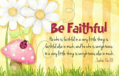 Be Faithful Magnet  -