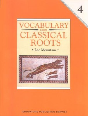 Vocabulary from Classical Roots Book 4   -