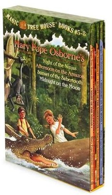 Magic Tree House: Books 5-8 Boxed Set  -     By: Mary Pope Osborne     Illustrated By: Sal Murdocca