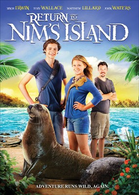 Return to Nims Island, DVD   -