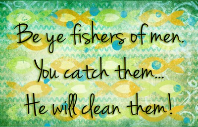 Fishers of Men Magnet  -