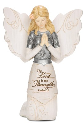 Lord Is My Strength Praying Angel  -