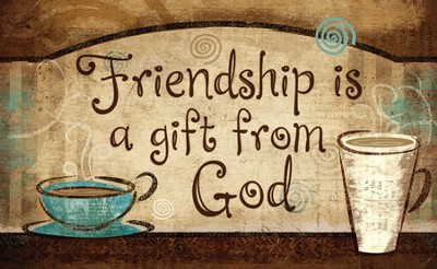 Friendship is a Gift magnet  -