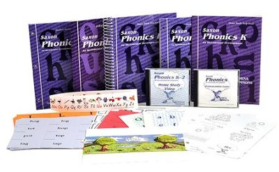 Saxon Phonics K, Home Study Kit   -