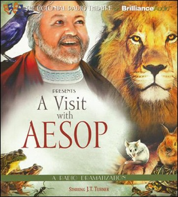 A Visit with Aesop Unabridged Audiobook on CD  -     By: J.T. Turner