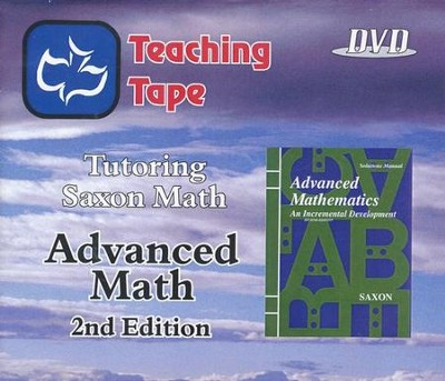 Teaching Tape Full Set DVDs: Saxon Math Advanced Math, 2nd Edition  -