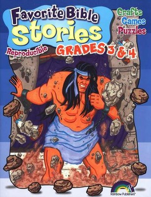 Favorite Bible Stories, Grades 3 & 4   -