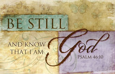 Be Still and Know Magnet  -