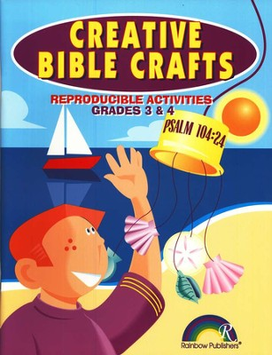 Creative Bible Crafts, Grades 3-4  -