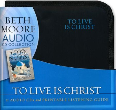 To Live is Christ: The Life and Ministry of Paul (CD set)  -     By: Beth Moore