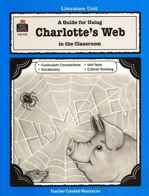 A Guide For Using Charlotte's Web in the Classroom, Grades 3-5    -     By: Patsy Carey, Susan Kilpatrick     Illustrated By: Theresa Wright