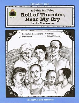 Roll of Thunder, Hear My Cry, Literature Guide Grades 5-8   -     By: Michael H. Levin     Illustrated By: Sue Fullam
