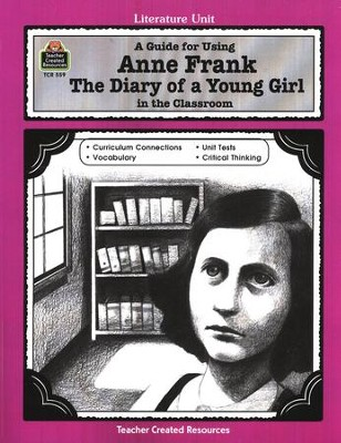Anne Frank: The Diary of a Young Girl Literature Guide, Gr. 5-8   -