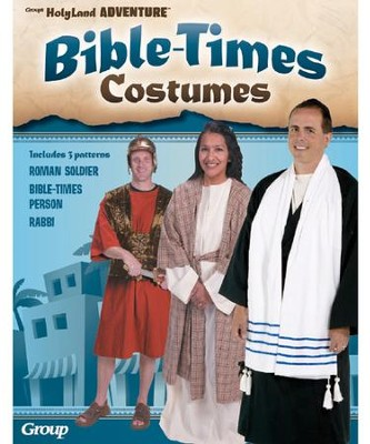 Bible Times Costume Patterns, Set of 3   -