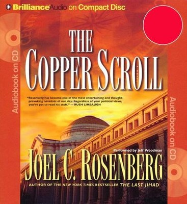 The Copper Scroll - abridged audiobook CD   -     By: Joel C. Rosenberg