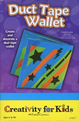Duct Tape Wallet Kit  -
