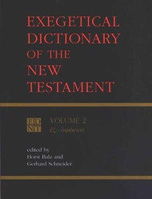Exegetical Dictionary of N.T., Volume 2  - Slightly Imperfect  -