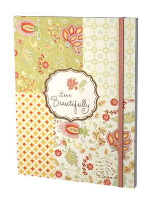 Live Beautifully Journal  -     By: Dena Designs