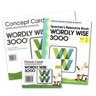 Wordly Wise 3000, Grade 1 Teacher's Resource Pack, 2nd & 3rd Edition   -