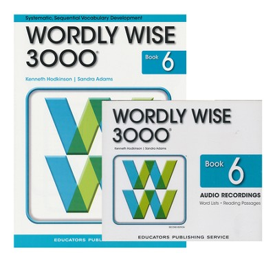 Wordly Wise 3000 Grade 6 Book & Audio CD Pack (Second Edition)  -