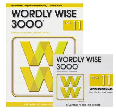 Wordly Wise 3000 Grade 11 Book & Audio CD Pack (Second  Edition)  -