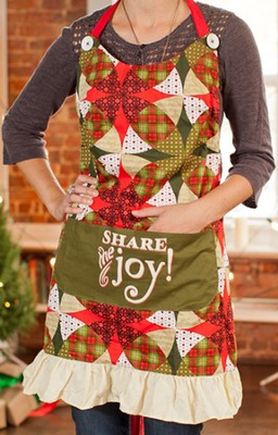Share the Joy Christmas Apron  -
