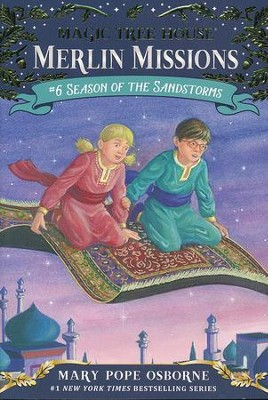 Magic Tree House #34: Season of the Sandstorm  -     By: Mary Pope Osborne     Illustrated By: Sal Murdocca