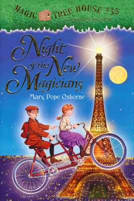 Magic Tree House #35: Night Of The New Magic  -     By: Mary Pope Osborne     Illustrated By: Sal Murdocca